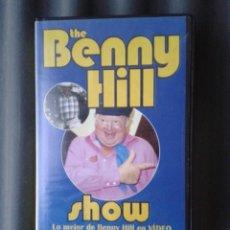 Series de TV: CINTA VHS SERIE TV TELEVISIÓN BENNY HILL HUMORISTA INGLÉS. Lote 41550025