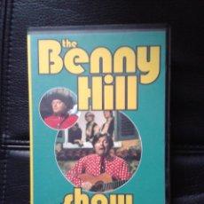 Series de TV: CINTA VHS SERIE TV TELEVISIÓN BENNY HILL HUMORISTA INGLÉS. Lote 41714817