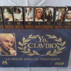 Series de TV: COLECCION VHS YO CLAUDIO LA MEJOR SERIE DE TELEVISION. BBC. 8 VHS. Lote 41817931