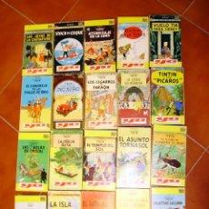 Series de TV: LAS AVENTURAS DE TINTÍN, 20 PELÍCULAS EN (ESPAÑOL/CASTELLANO) MUY ANTIGUAS. Lote 45038426