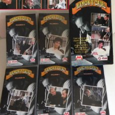 Series de TV: RAMÓN Y CAJAL SERIE DE TELEVISIÓN BIOGRAFÍA HISTORIA ESPAÑA MEDICINA FERNÁN-GÓMEZ MARSILLACH VHS TVE. Lote 45547865