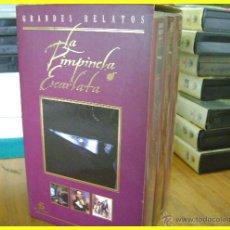Series de TV: PACK EN ESTUCHE ESPECIAL, 3 VHS. LA PIMPINELA ESCARLATA, RICHARD GRANT. TELECINCO/SAV,. Lote 184259360