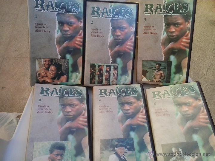 RAICES (6 PRIMEROS VHS) (Series TV en VHS )