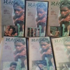 Series de TV: RAICES (6 PRIMEROS VHS). Lote 46181729