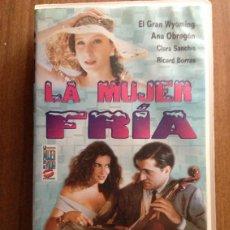 Series de TV: VHS LA MUJER DE TU VIDA. LA MUJER FRIA. SERIE TVE. ANA OBREGÓN. GRAN WYOMING. Lote 48147088