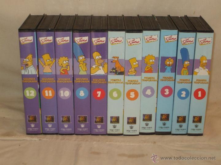 LOS SIMPSON 1ª Y 2ª TEMPORADA. (Series TV en VHS )