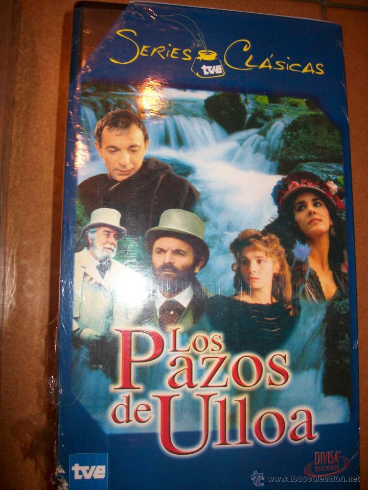 VHS - LOS PAZOS DE ULLOA - LOTE 2 VHS - SERIES CLASICAS TVE - PRECINTADO (Series TV en VHS )