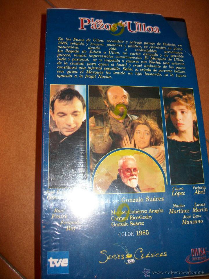 Series de TV: VHS - LOS PAZOS DE ULLOA - LOTE 2 VHS - SERIES CLASICAS TVE - PRECINTADO - Foto 3 - 48971163