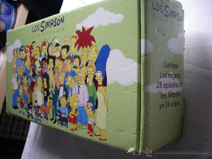 Series de TV: LOS SIMPSON (ESPECIAL COLECCIÓN) - Los mejores 28 episodios en 14 cintas VHS + CAJA ORIGINAL - Foto 2 - 50173547