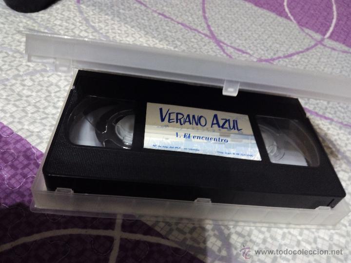 Series de TV: VHS VERANO AZUL Portada con los Protagonistas de la Serie - Foto 2 - 50408823