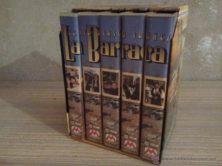 VHS LA BARRACA. SERIE DE TV. SERIE DE TELEVISON. VIDEO. BLASCO IBAÑEZ. (Series TV en VHS )