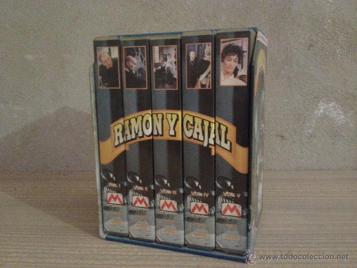 Series de TV: RAMON Y CAJAL. SERIE TV. VHS. SERIE DE TELEVISION. VIDEO. - Foto 2 - 51257632