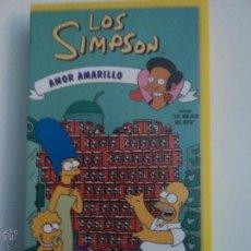 Series de TV: LOS SIMPSONS AMOR AMARILLO - VHS. Lote 51625962