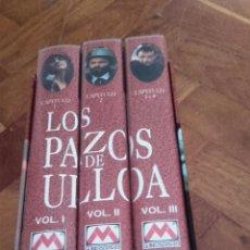 Series de TV: PACK 3 CINTAS VÍDEO VHS LOS PAZOS DE ULLOA. RTVE METROVÍDEO EMILIA PARDO BAZÁN. Lote 52062026