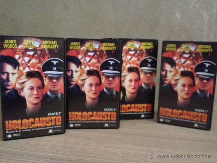 VHS VIDEO SERIE DE TV HOLOCAUSTO CON ESTUCHE IAN HOLM MERYL STREEP (Series TV en VHS )