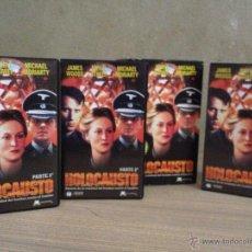 Series de TV: VHS VIDEO SERIE DE TV HOLOCAUSTO CON ESTUCHE IAN HOLM MERYL STREEP. Lote 52283785