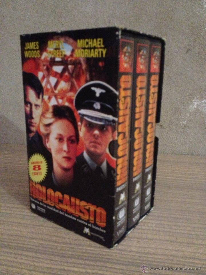 Series de TV: VHS VIDEO SERIE DE TV HOLOCAUSTO CON ESTUCHE Ian Holm Meryl Streep - Foto 2 - 52283785