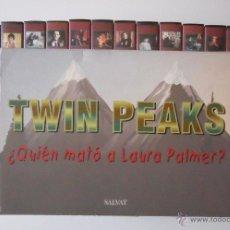 Cine: TWIN PEAKS DAVID LYNCH COLECCION VHS SALVAT. Lote 52666491