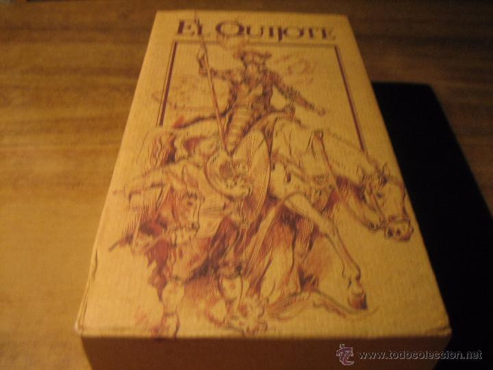 CINTA EN VHS.- EL QUIJOTE.- 2 CINTAS DE VIDEO EDICION ESPECIAL CENTRAL HISPANO (Series TV en VHS )