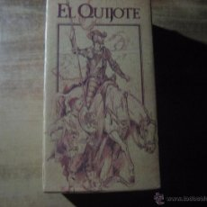 Series de TV: CINTA VHS: EL QUIJOTE.- 2 CINTAS DE VIDEO EDICION ESPECIAL CENTRAL HISPANO . Lote 53252440