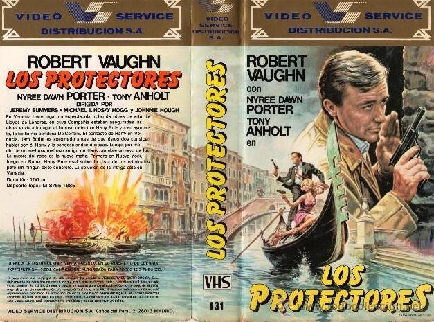 LOS PROTECTORES - ROBERT VAUGHN VHS (Series TV en VHS )