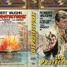 Series de TV: LOS PROTECTORES - ROBERT VAUGHN VHS. Lote 53258221