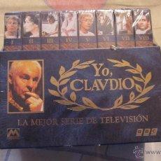 Series de TV: M69 SERIE COMPLETA EN VHS DE LA SERIE MITICA YO CLAUDIO 8 CINTAS PRECINTADA NUNCA ABIERTO. Lote 53830129