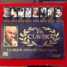 Series de TV: 8 CINTAS VHS EN SU ESTUCHE ORIGINAL DE YO CLAUDIO, LA MEJOR SERIE DE TELEVISIÓN, BBC, METROVIDEO,. Lote 54673624