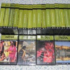 Cine: VENDO COLECCIÓN COMPLETA DE 20 CITAS VHS, INDIA.. Lote 56110174