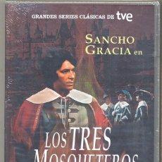 Cine: LOS TRES MOSQUETEROS (SANCHO GRACIA) : UNA SERIE ESPAÑOLA, DADA POR EXTRAVIADA Y RECUPERADA. Lote 95012007