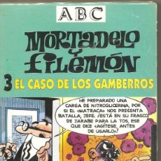 Series de TV: MORTADELO Y FILEMÓN. EL CASO DE LOS GAMBERROS. VHS. (PRECINTADO). Lote 57233296