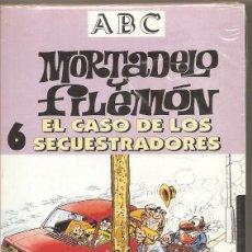 Series de TV: MORTADELO Y FILEMÓN. EL CASO DE LOS SECUESTRADORES. VHS. (PRECINTADO). Lote 57233487