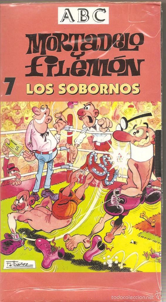 MORTADELO Y FILEMÓN. LOS SOBORNOS. VHS. (PRECINTADO) (Series TV en VHS )