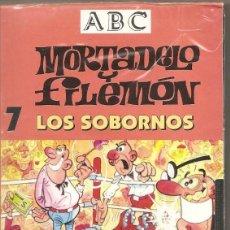 Series de TV: MORTADELO Y FILEMÓN. LOS SOBORNOS. VHS. (PRECINTADO). Lote 57233630