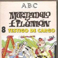 Series de TV: MORTADELO Y FILEMÓN. TESTIGO DE CARGO. VHS. (PRECINTADO). Lote 57233676