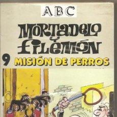 Series de TV: MORTADELO Y FILEMÓN. MISIÓN DE PERROS. VHS. (PRECINTADO). Lote 57233742
