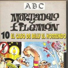 Series de TV: MORTADELO Y FILEMÓN. EL CASO DE BILLY EL HORRENDO. VHS. Lote 57233804