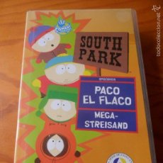 Series de TV: SOUTH PARK VOLUMEN 5 - PACO EL FLACO/ MEGA STREISAND - VHS. Lote 58179972