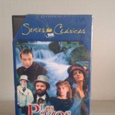 Series de TV: VHS -- LOS PAZOS DE ULLOA -- SERIES CLASICAS TVE -- COMPLETA -- NUEVA Y PRECINTADA --. Lote 62914488