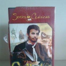 Series de TV: VHS -- CERVANTES -- SERIES CLASICAS TVE -- COMPLETA -- NUEVA Y PRECINTADA --. Lote 62949096