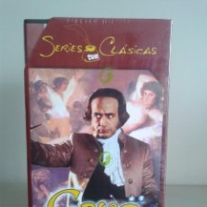 Series de TV: VHS -- GOYA -- SERIES CLASICAS TVE -- COMPLETA -- NUEVA Y PRECINTADA --. Lote 62949580