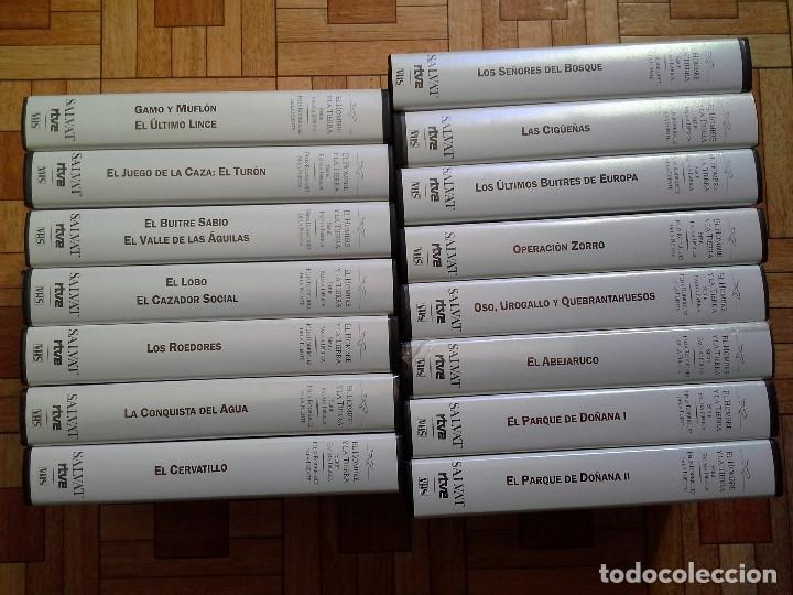 EL HOMBRE Y LA TIERRA - SERIE FAUNA IBÉRICA - FÉLIX RODRÍGUEZ DE LA FUENTE - 15 VHS (Series TV en VHS )