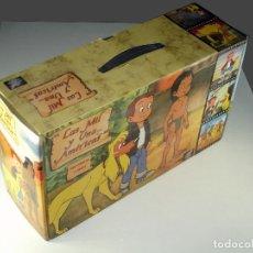 Cine: MALETÍN 13 VHS - SERIE DE DIBUJOS ANIMADOS LAS MIL Y UNA...AMÉRICAS - BRB - 1990- NUEVO SIN USAR. Lote 68943781