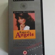 Series de TV: RAGE OF ANGELS ( RABIA DE ÁNGELES ) - VHS - MINI SERIE - EN INGLÉS - SIDNEY SHELDONS - PASIÓN AMOR -. Lote 72930039