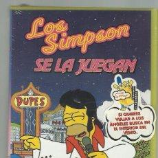 Cine: LOS SIMPSONS SE LA JUEGAN.PRECINTADO.ESPECIAL PARA COLECCIONISTAS.. Lote 73004907