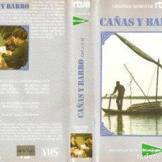 Cine: CAÑAS Y BARRO SERIE TVE 2 VHS BLASCO IBAÑEZ - EDICION EL CORTE INGLES. Lote 75056679