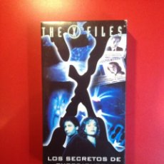 Series de TV: LOS SECRETOS DE EXPEDIENTE X (VHS/PAL)CASTELLANO. Lote 81945232