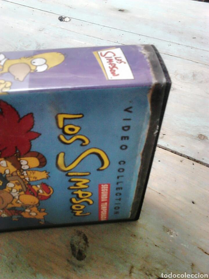Series de TV: Video colección, segunda temporada los simpson,n7,año 2001,ver fotos - Foto 4 - 87674395