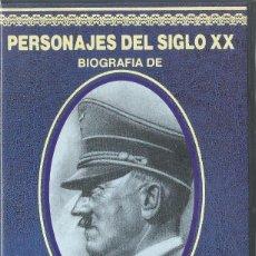 Series de TV: PERSONAJES DEL SIGLO XX: ADOLF HITLER. Lote 91695250
