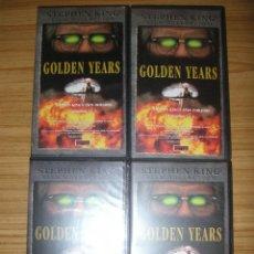 Cine: LOS AÑOS DORADOS (GOLDEN YEARS, 1991) MINI SERIE COMPLETA - VHS - STEPHEN KING. Lote 93621915
